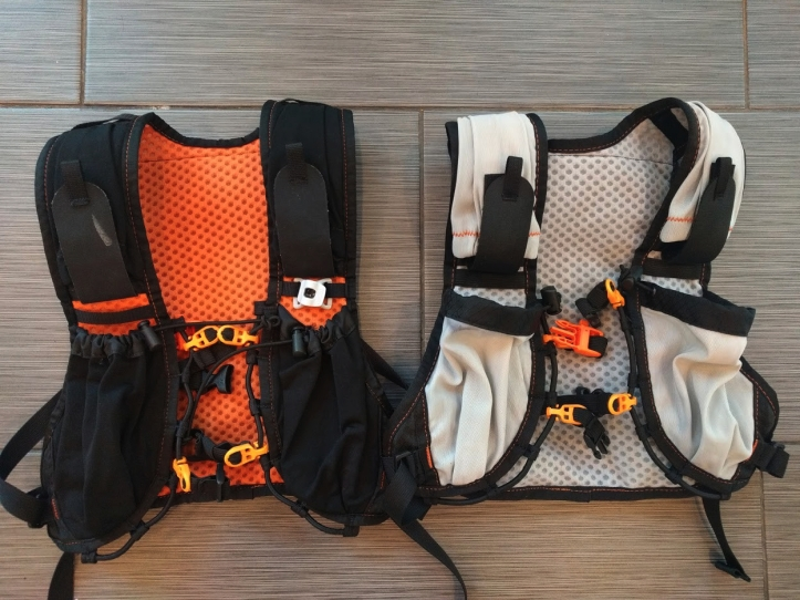 2017 Orange Mud Endurance Pack and 2016 Orange Mud Pack